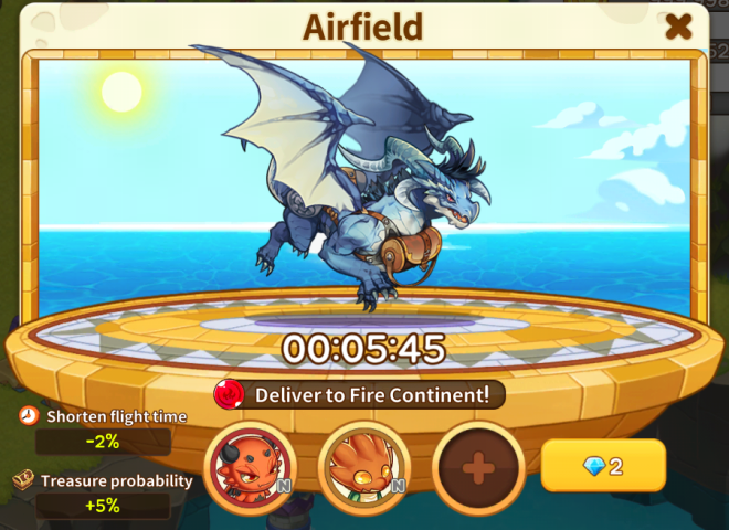 Dragon Village W: Game Guide - Game Guide: Airfield image 3