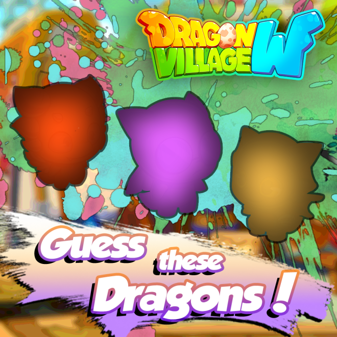 Dragon Village W: Event - 【Try and Guess 'em】  image 1