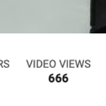My video views are cursed...