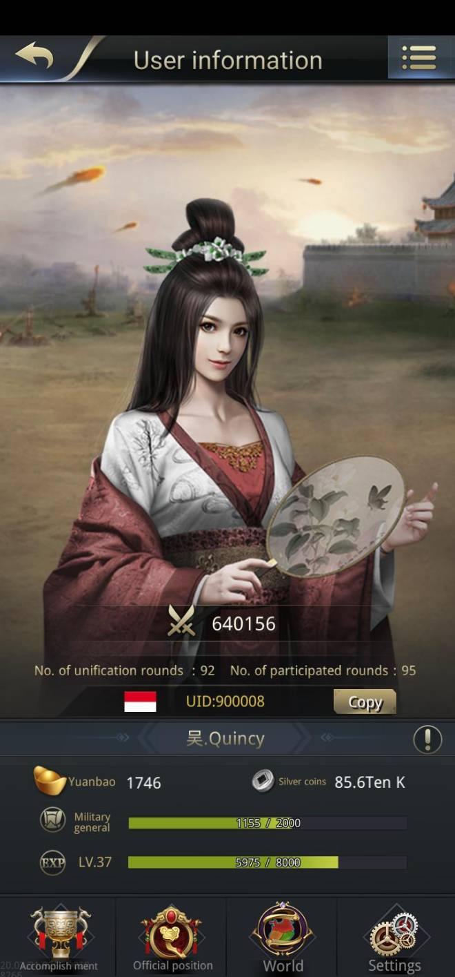 Three Kingdoms RESIZING: Limited General Board [Da Qiao], END - 吴.Quincy/900008/DaQiao image 1