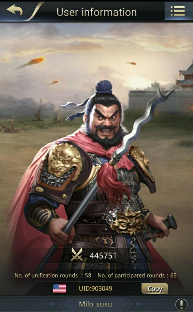 Three Kingdoms RESIZING: Limited General Board [Zhang Fei], END - Great shu general image 2