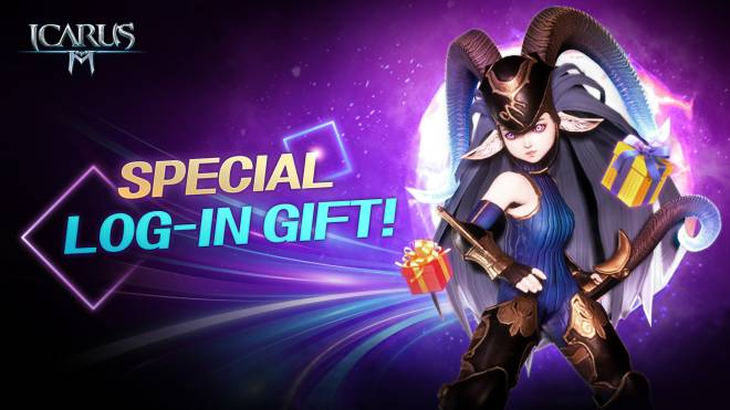 Icarus M: Riders of Icarus: Event - Special Log-in Gift | 特别登陆礼物 | ของขวัญล็อกอินพิเศษ image 2