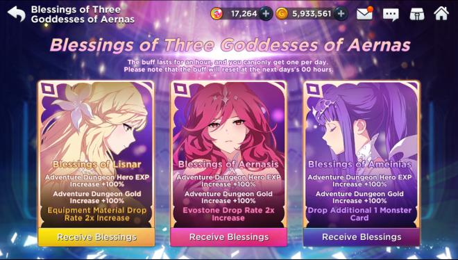 GrandChase - GLOBAL EN: Events - [EVENT] Blessings of the Goddesses   image 5