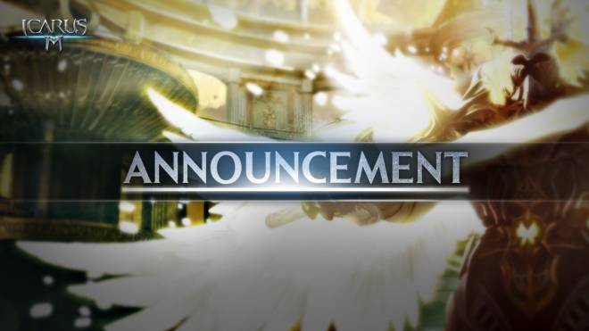 Icarus M: Riders of Icarus: Notice - Icarus M is now back online! image 2