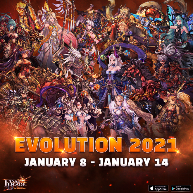 Final Blade | English: ★ Events - 📣 2021 Evolution 📣 image 1