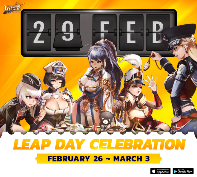 Final Blade | English: ★ Events - 📣 Leap Day Celebration 📣  image 1