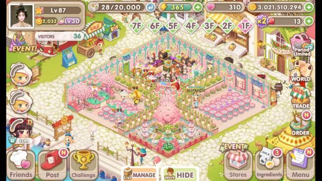 My Secret Bistro: [Closed] Best Cherry Blossom Interior Content - ign : issah. image 1