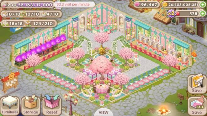 My Secret Bistro: [Closed] Best Cherry Blossom Interior Content - ID: Riien image 2