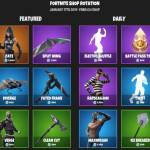 Fortnite daily shop 17/1/2019