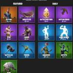 Fortnite daily shop 20/1/2019
