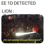Lion be like