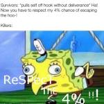 Do not respecc the 4%