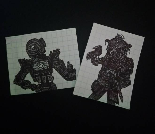 Apex Legends: General - Some drawings image 1