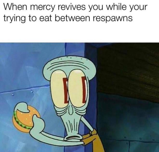 Overwatch: Memes - The one time your mercy actually knows how to rez ... image 1