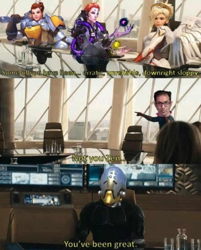 Overwatch: Memes - Save zen from all nerfs image 1