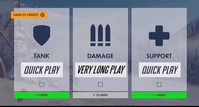 Overwatch: Memes - Quick play explained image 1