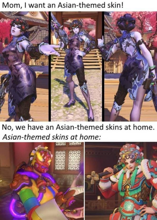 Overwatch: Memes - This years skins are kinda ugly ... image 1