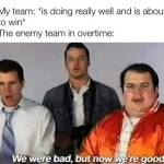 Overtime is like a super power