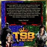 Hello I am recruiting for TSB would you like to join ?