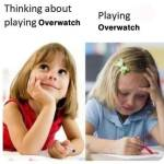 Watching people play overwatch makes you want to play