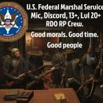 Join the U.S. Federal Marshal Service!