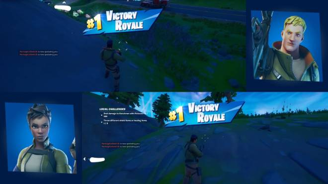 Fortnite: Battle Royale - When alone and bad, you just suck, but two bad players = ? image 2