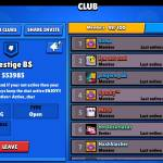We are recruiting join us at Prestige BS we have 50 members and 600k trophies