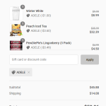 """How the code: """"Adele"""" changed the discount"""