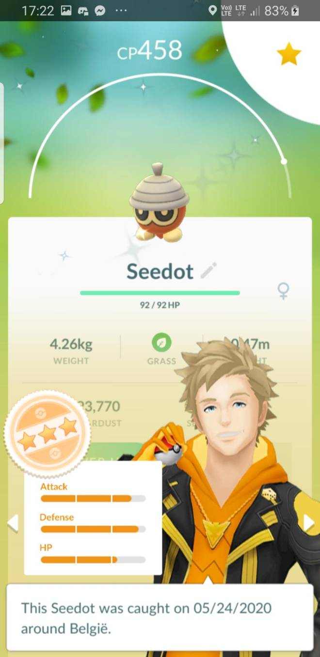 Pokemon: General - Seedot community day! image 6