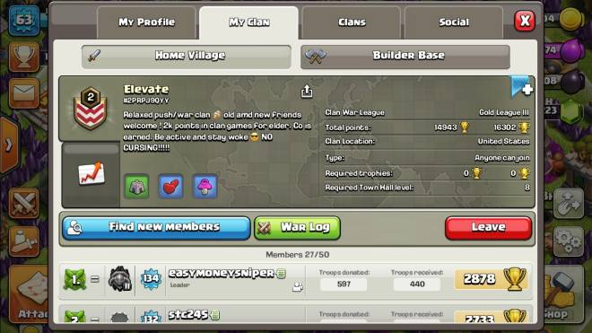 Clash of Clans: General - Space for others to join image 2