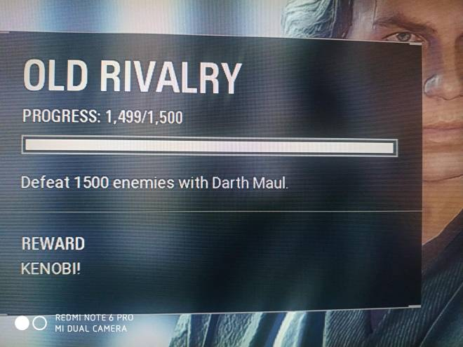 Star Wars: General - Just finished a game and saw this 😭 image 1