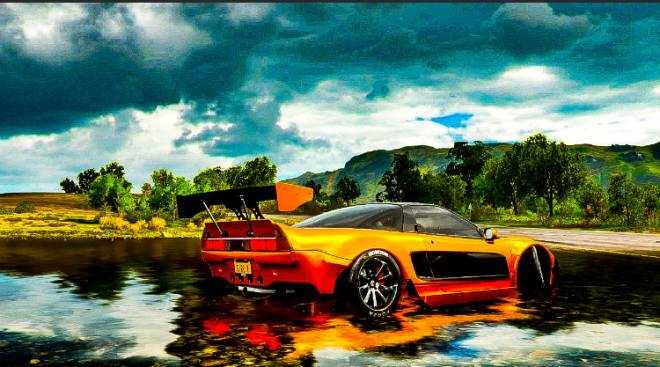 Forza: General - Forza pics of my Honda NSX-R tried making it similar to hans rx7  image 4
