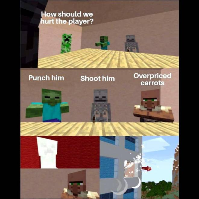 Minecraft: General - Daily meme:Day 6 image 2