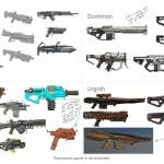New Faction Weaponry