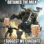 Evacuate immediately