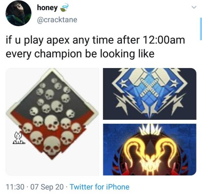 Apex Legends: Memes - Early mornings+late nights= Sweaty boi hours image 1