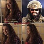 That damned smile
