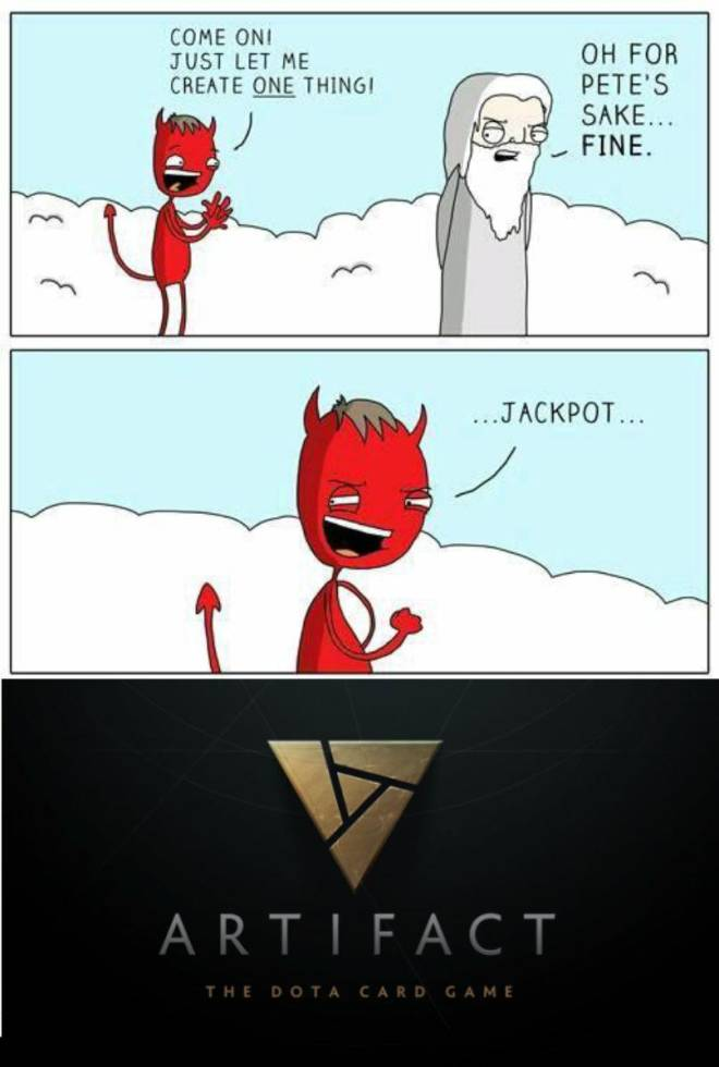 Artifact: General - It wouldn't be wrong to think if the devil was planning this the whole time... image 1