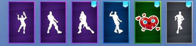 Fortnite: Battle Royale - What 6 Emotes / Emoticons / Sprays Do You Guys Have Preset ?  image 2
