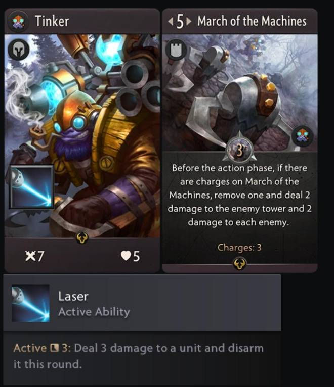 Artifact: General - Now tinker is here, not bad of a hero.. image 1