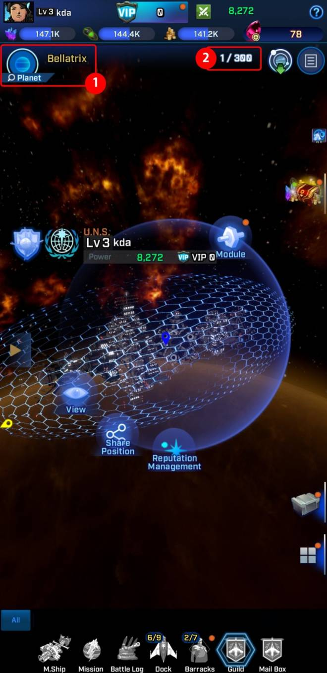Rogue Universe: Tips and Tutorials - [Guide] Moving between Planets image 8