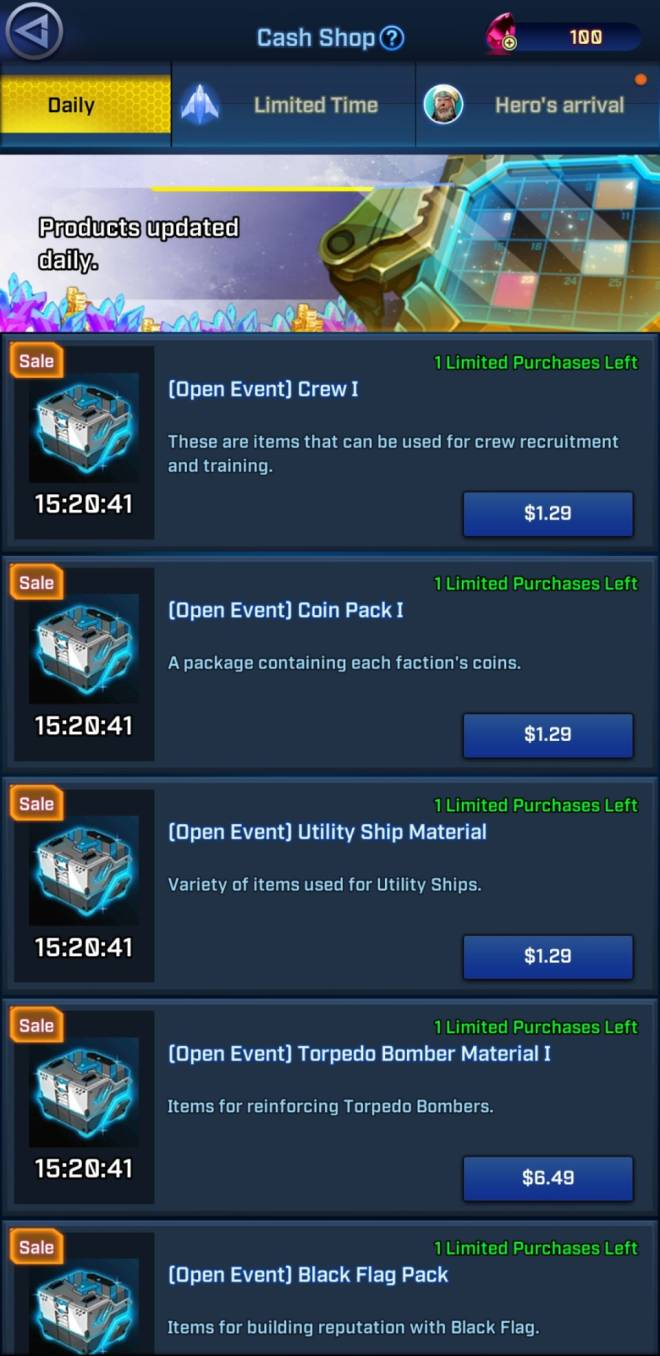 Rogue Universe: Tips and Tutorials - [Guide] Shop image 8