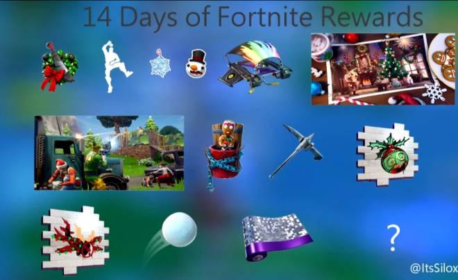 Fortnite 14 Days Of Christmas.Moot Fortnite