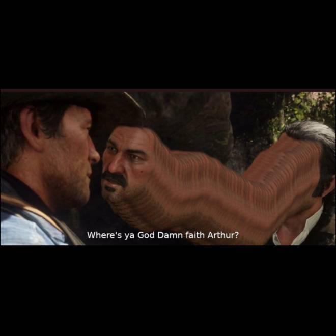 Red Dead Redemption: General - Where's you're god damn faith aurthur image 1
