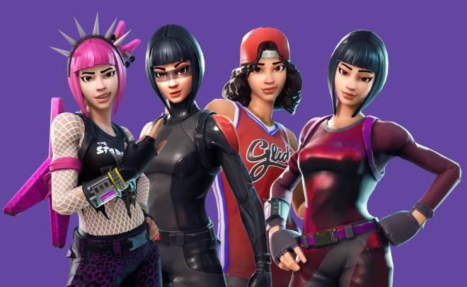 Fortnite: Battle Royale - Rate My Squad : The Yonshurui Girls 👩🏻🎤🤸🏻♀️⛹🏻♀️🤾🏻♀️ image 4