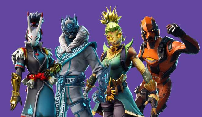 Fortnite: Battle Royale - Rate My Squad : The Elemental Legends ⚡️❄️🌬🔥 image 4