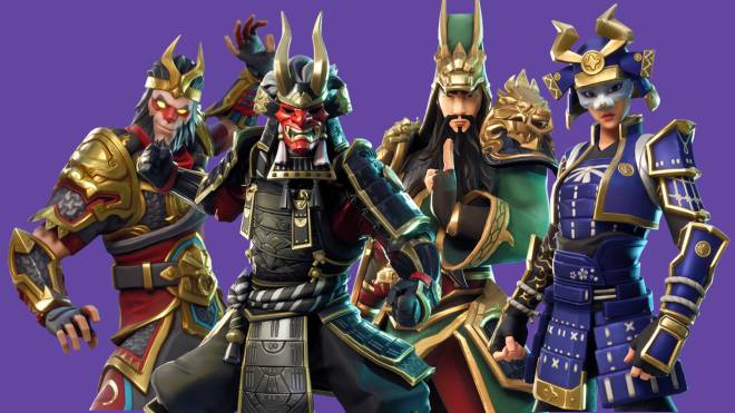 Fortnite: Battle Royale - Rate My Squad : Asian Warriors ⚔️🎖🙏🏻 image 4