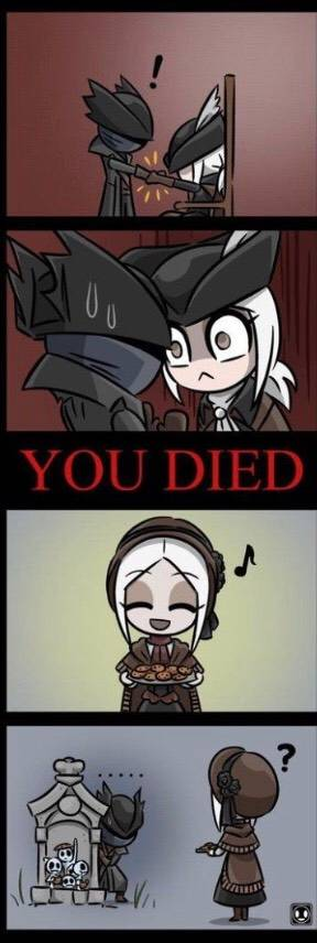 Bloodborne: General - Seeing the doll for the first time after Meeting Maria  image 1