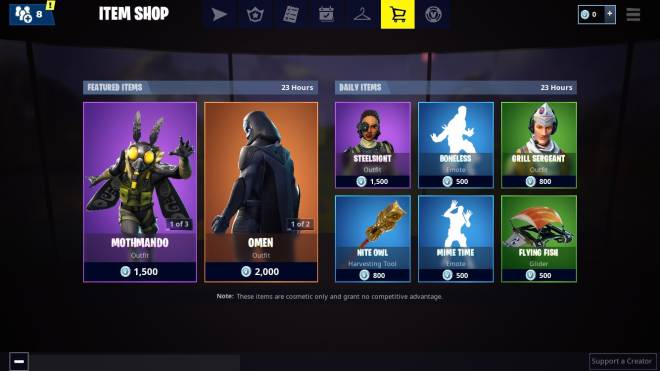 Fortnite: Battle Royale - Thought's On Today's Item Shop 🤔  image 2