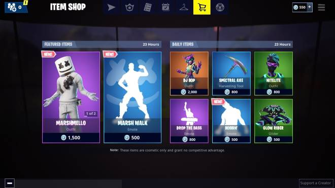 Fortnite: Battle Royale - Thoughts On Today's Item Shop 🤔  image 2